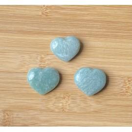 Amazonit szív ásvány 3cm
