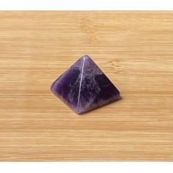 Ametiszt ásvány piramis 3cm