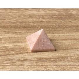 Barack holdkő ásvány piramis 3,5cm