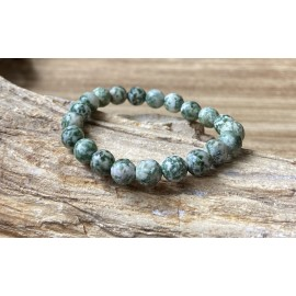 Jade ásvány karkötő Fényes 8mm