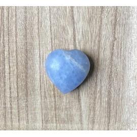 Kék kalcit szív ásvány