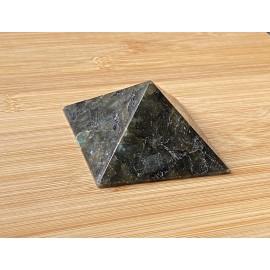 Labradorit ásvány piramis  7 cm