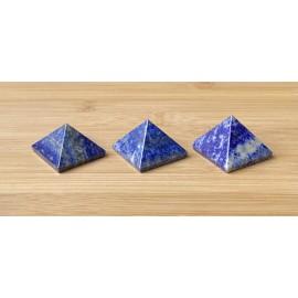 Lapis lazuli ásvány piramis 3cm