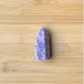 Lepidolit ásvány csúcs 6,5cm