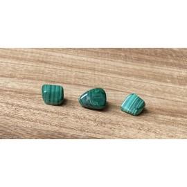 Malachit ásvány marokkő 1cm