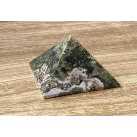 Óceán jáspis ásvány piramis 6cm