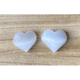 Szelenit ásvány szív 3-4cm