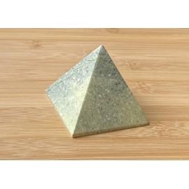 Szerpentin ásvány piramis 6cm